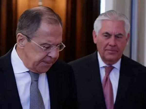 Лавров и Тиллерсон обсудили урегулирование в Сирии