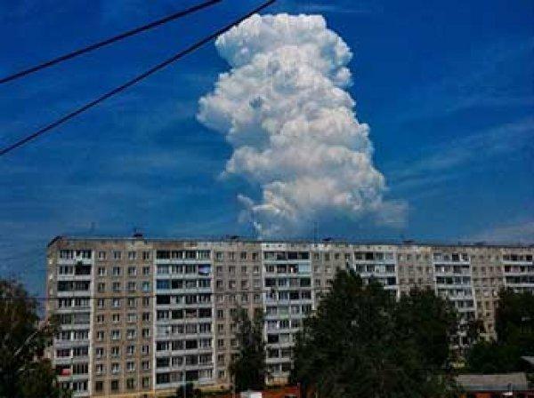 Ученые нашли объяснение появления облачной башни над Новосибирском (ФОТО, ВИДЕО)