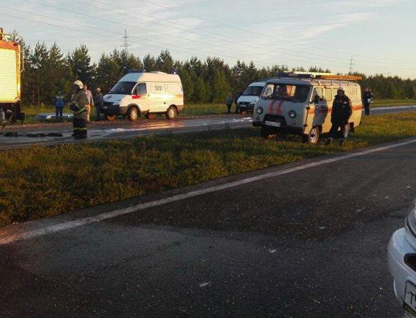 В страшном ДТП в Татарстане погибли 14 человек