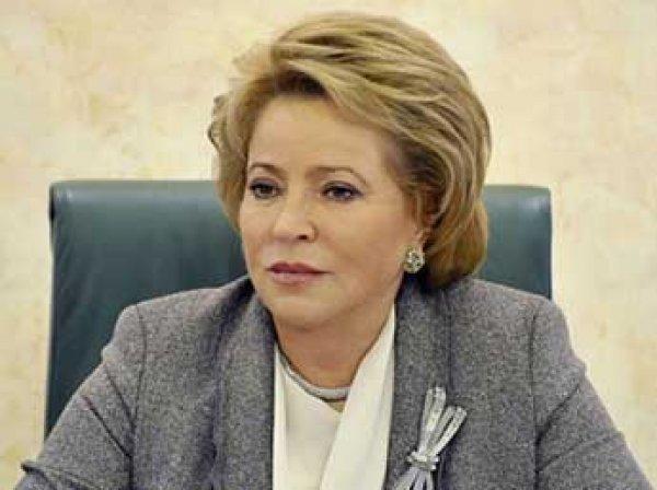 Матвиенко предложила заменить транспортный налог повышением цен на бензин