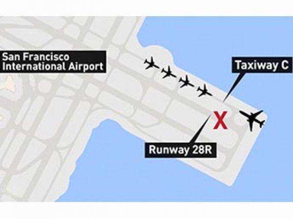 В аэропорту Сан-Франциско предотвратили крупнейшую в истории авиации катастрофу (ВИДЕО)