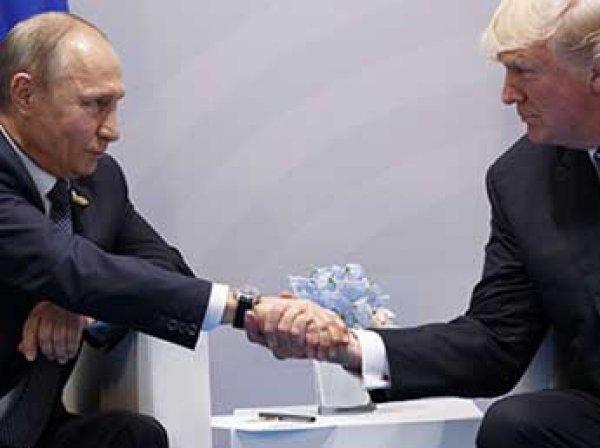 """СМИ узнали о """"стычке"""" Путина и Трампа во время первой встречи"""
