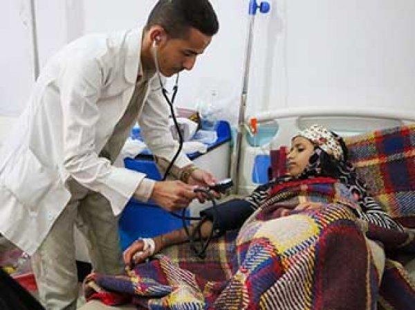 Эпидемия холеры вспыхнула в Йемене: свыше 1,7 тысячи человек скончались
