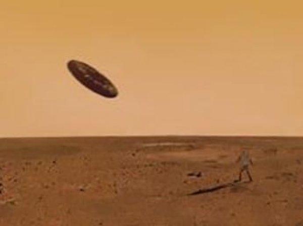 Уфологи нашли на Марсе разбившийся корабль пришельцев (ФОТО)