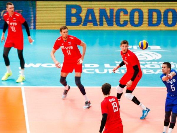 Волейбол, Россия — Бразилия: россияне уступили и лишились шансов на выход в полуфинал Мировой лиги