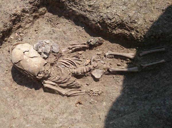 """Археологи нашли в Крыму могилу """"инопланетянина"""""""
