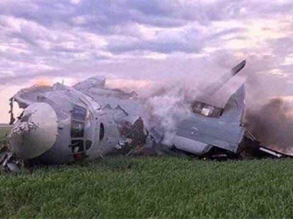 В Сети опубликовано видео крушения самолета Ан-26 под Саратовом