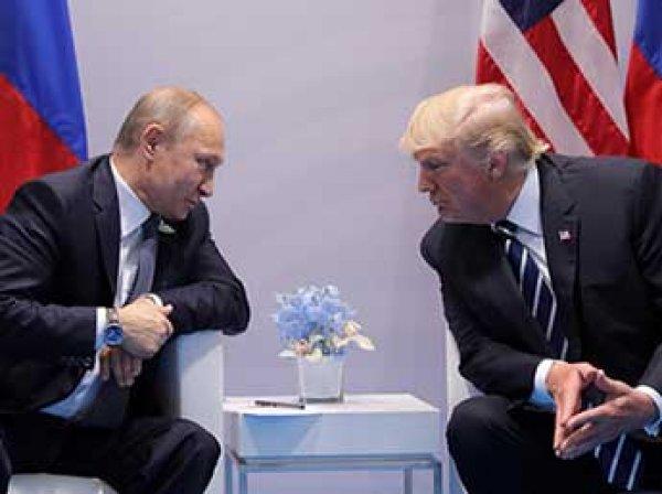 """Трамп рассказал о """"жестком разговоре"""" с Путиным"""