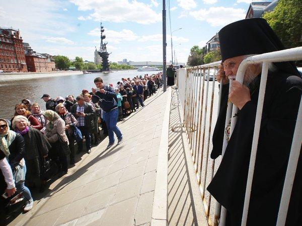 Очередь к мощам Николая Чудотворца в Москве онлайн: где сегодня 10 июля 2017 очередь к Храму Христа Спасителя