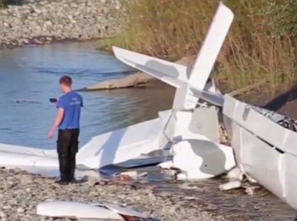 Трое россиян стали жертвами крушения самолета в Абхазии