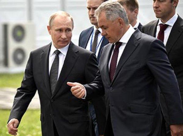 Путин приехал на авиасалон МАКС и угостил министров мороженым (ВИДЕО)