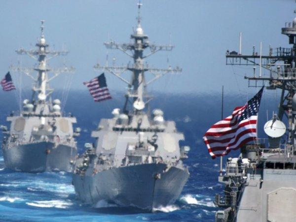 """СМИ: флот США готов ударить по Китаю по первому требованию """"хоть на следующей неделе"""""""