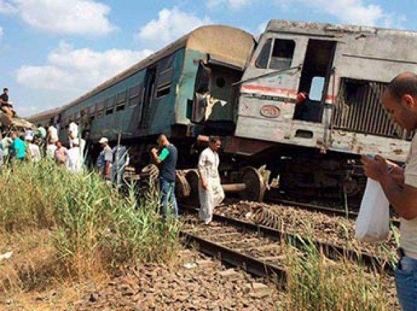 Два поезда столкнулись в Египте: около 30 погибших (ФОТО)
