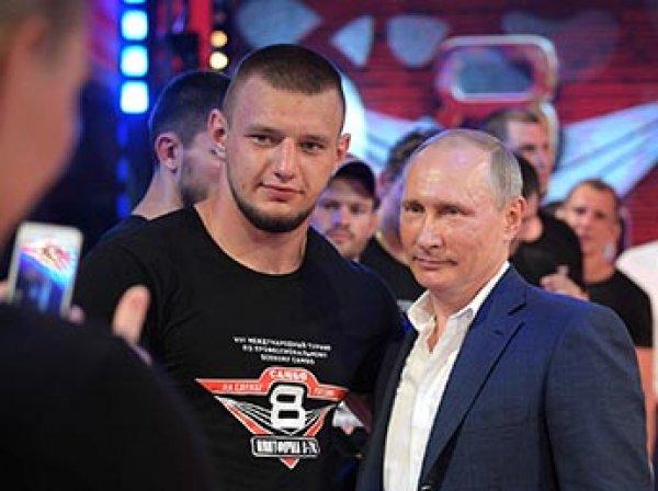 Путин в компании Медведева посетил турнир по боевому самбо в Сочи (ВИДЕО)