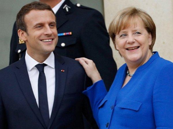 Меркель и Макрон призвали Путина и Порошенко к перемирию