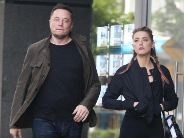Илон Маск прокомментировал расставание с Эмбер Херд
