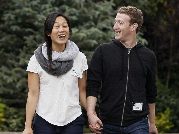 Марк Цукерберг уйдет в декрет после рождения дочери