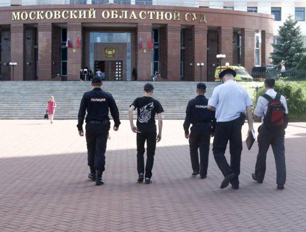 Первое ВИДЕО с места стрельбы в Мособлсуде появилось в Сети