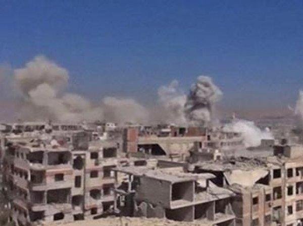 В Сирии от удара коалиции во главе с США погибли 60 человек