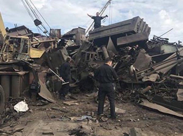 На пункте приема цветмета в Чите двое рабочих погибли, распиливая снаряд