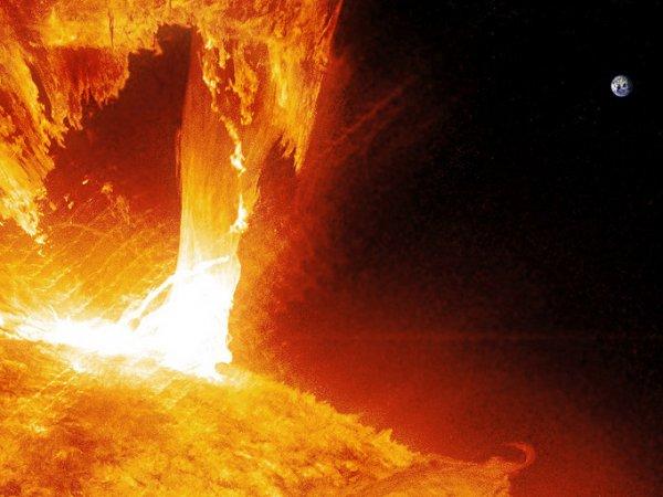 Ученые: мощные вспышки на Солнце могут привести к гибели Земли
