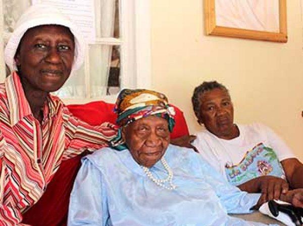 Старейшая жительница Земли скончалась на Ямайке