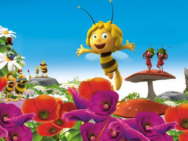 """В детском мультфильме """"Пчелка Майя"""" зрители обнаружили неприличное граффити"""