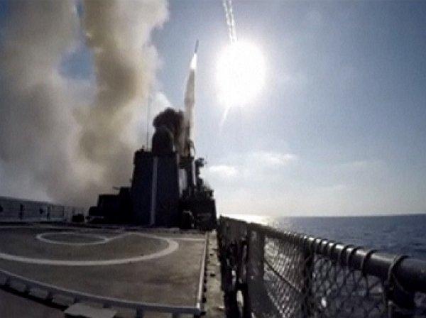 Российский фрегат ударил «Калибрами» по ИГИЛ в Сирии