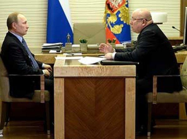 Путин наградил нижегородского губернатора орденом и отправил в отставку