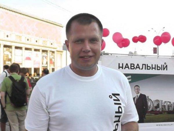 Избиение главы московского штаба Навального железной трубой попало на видео