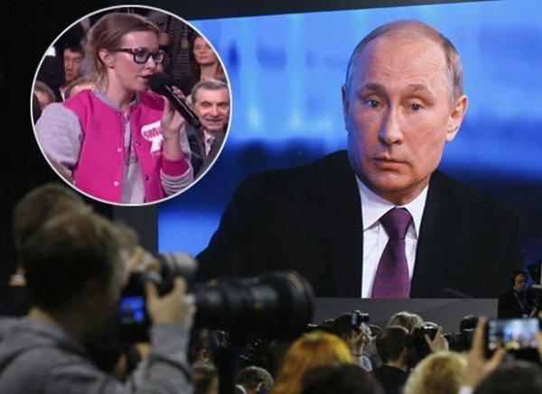 СМИ: Кремль видит Собчак соперником Путина на выборах президента 2018