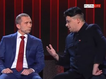 Пародия Comedy Club на встречу Путина, Ким Чен Ына и Меркель набирает популярность в <i>маска</i> Сети (ВИДЕО)
