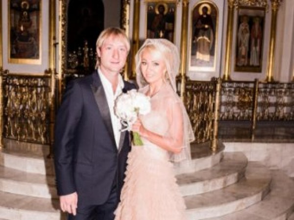 Яна Рудковская и Евгений Плющенко обвенчались в церкви (ФОТО)