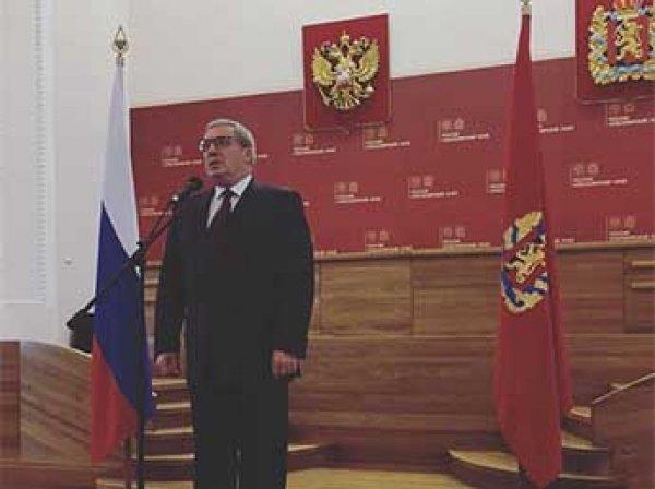 Главы Красноярского края и Дагестане подали в отставку
