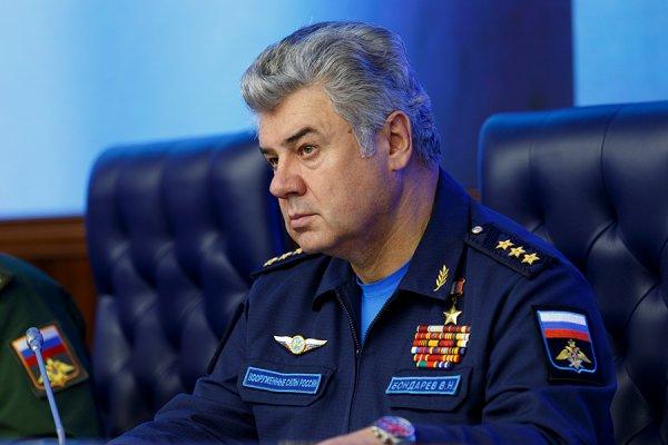 Путин освободил от должности главкома ВКС Бондарева