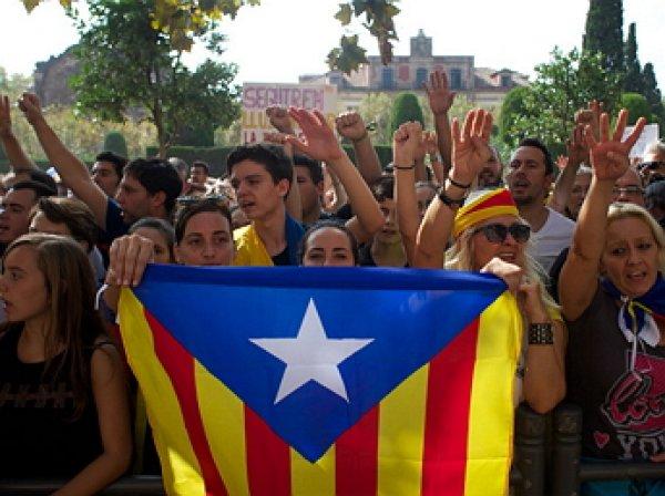 Правительство Каталонии объявило результаты референдума