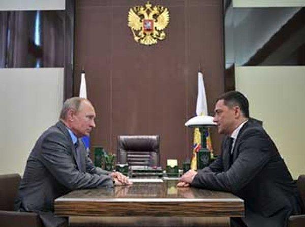 Путин уволил губернатора Псковской области Турчака, а Медведев дал ему новую должность