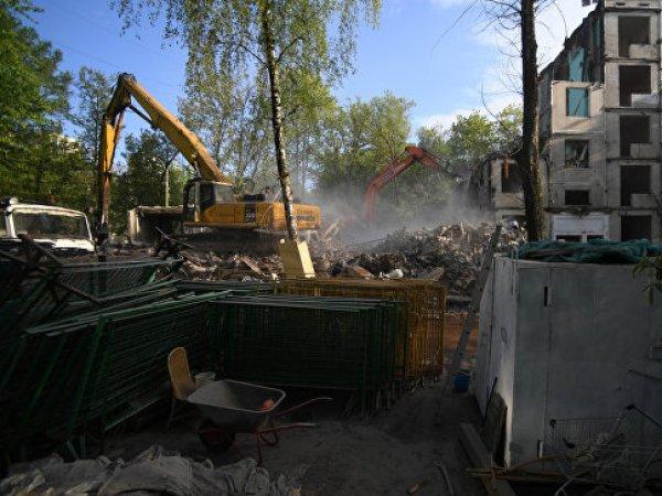 Снос домов в Москве: список был расширен властями Москвы