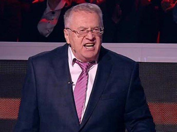 Жириновский устроил скандал в прямом эфире на шоу Соловьева, обматерив Затулина (ВИДЕО)