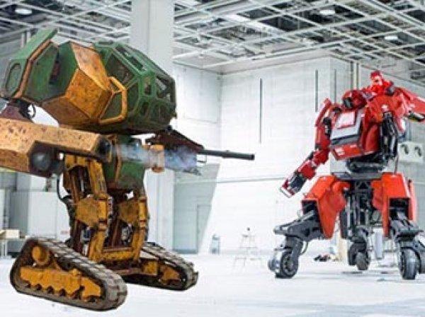 В Японии впервые в истории прошел бой гигантских роботов