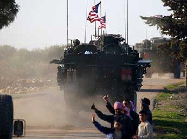 СМИ: США намерены сохранить военное присутствие в Сирии