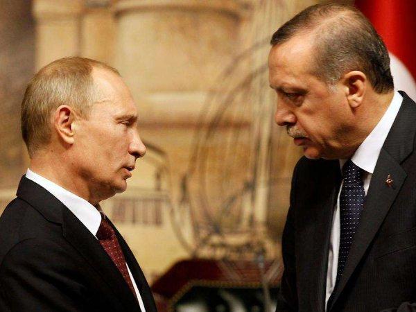 Опубликовано видео как Путин уронил стул Эрдогана в Сочи
