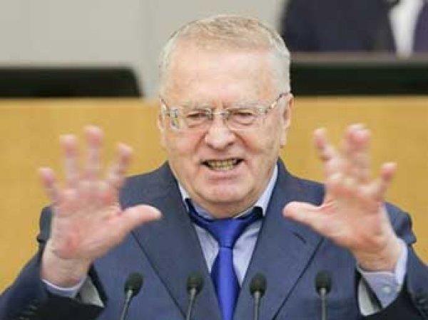 ЛДПР выдвигает Жириновского кандидатом в президенты РФ