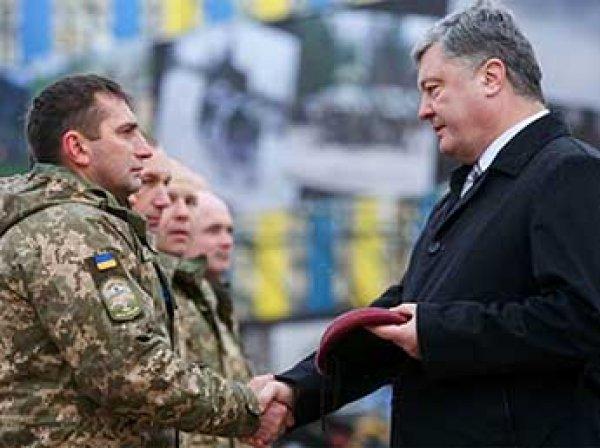 Порошенко переименовал ВДВ на Украине и сменил цвет беретов у десантников