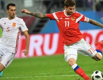Россия испания видео голов футбол