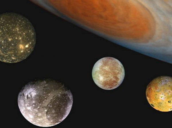 Уфологи обнаружили на спутнике юпитера потерпевший крушение НЛО