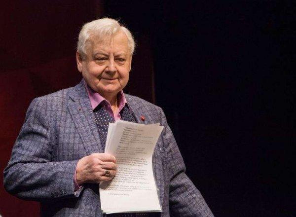 СМИ сообщили о резком ухудшении состояния здоровья Олега Табакова