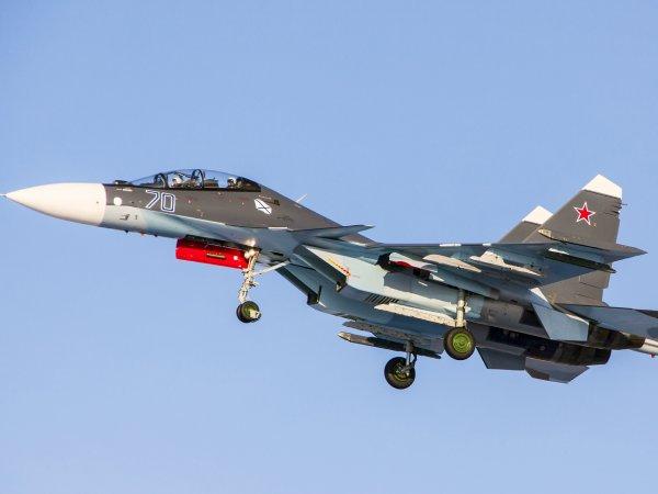 Пентагон показал видео перехвата российских Су-30 в небе над Балтикой