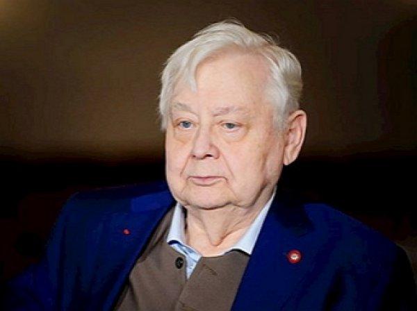 Состояние Олега Табакова ухудшилось