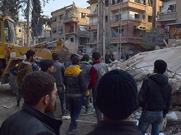 ООН сообщила о гибели свыше 100 человек в Сирии за два дня